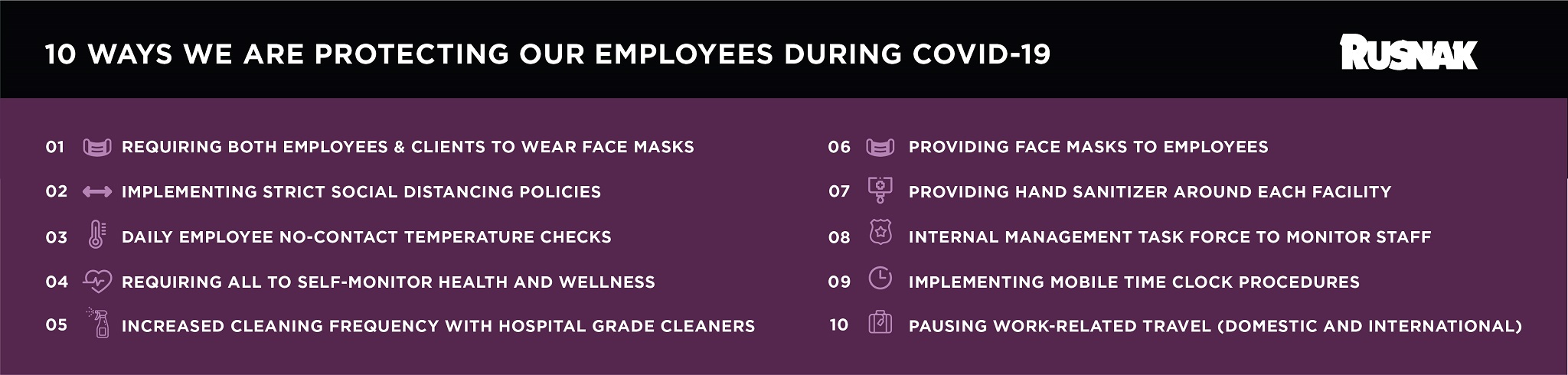 HR Covid 19 Infographic